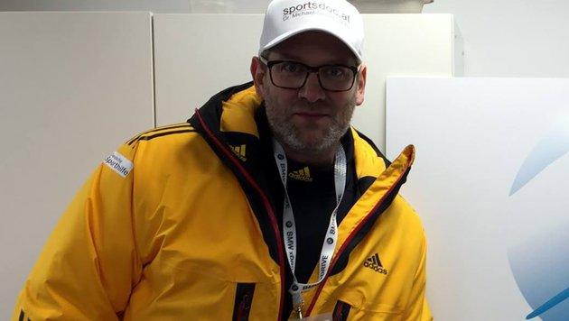 ÖSV-Teamarzt Michael Sachs wird zu Grabe getragen (Bild: facebook.com/sportsdoc.at)