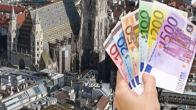 Wiener Budgetpolitik: Halbe Mrd. € mehr Schulden? (Bild: APA/HELMUT FOHRINGER, CHRIS KOLLER)