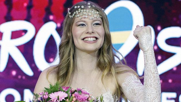 Zoe zum Song Contest: Ist das f�r Sie ok? (Bild: APA/GEORG HOCHMUTH)