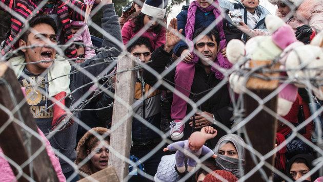 """Orban in Rage: """"Flüchtlinge sind Hort des Bösen"""" (Bild: AFP)"""