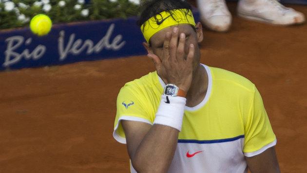 Thiem ringt Sandplatz-König Nadal auf Sand nieder! (Bild: AP)