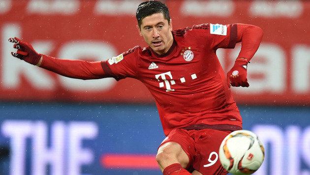Bayern hoffen auf CL-Einsatz von Lewandowski (Bild: AFP or licensors)