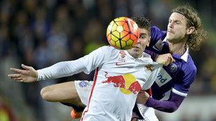 Schlager Salzburg gegen Austria im Cup-Halbfinale (Bild: APA/HERBERT NEUBAUER)