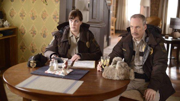 """Allison Tolman und Bob Odenkirk in """"Fargo"""" (Bild: FX Networks)"""