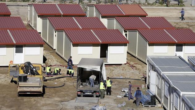 Auf Leros wurde 2016 ein Hotspot errichtet. (Bild: AP)