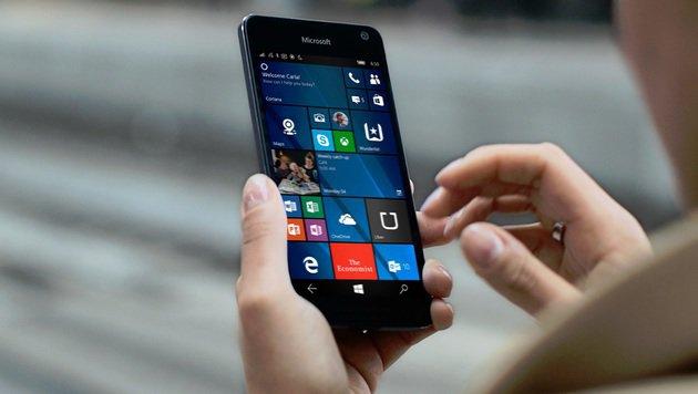 Alu & OLED für 230 Euro: Microsoft zeigt Lumia 650 (Bild: Microsoft)