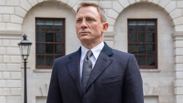Daniel Craig in seiner Rolle als James Bond (Bild: Viennareport)