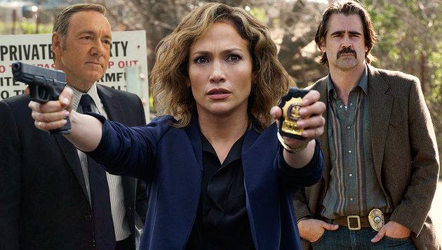 Diese Serien glänzen mit echten Hollywoodstars (Bild: Sky Atlantic, NBC Universal Media, HBO)