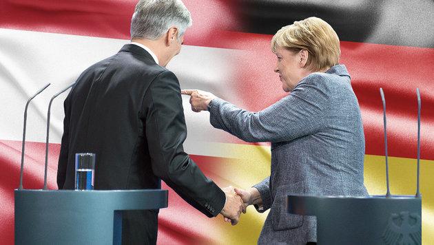 Faymanns Wende in der Fl�chtlingskrise (Bild: APA/dpa/Bernd von Jutrczenka, thinkstockphotos.de)