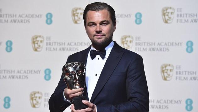Leonardo DiCaprio gewinnt auch bei den BAFTAs. (Bild: AFP)