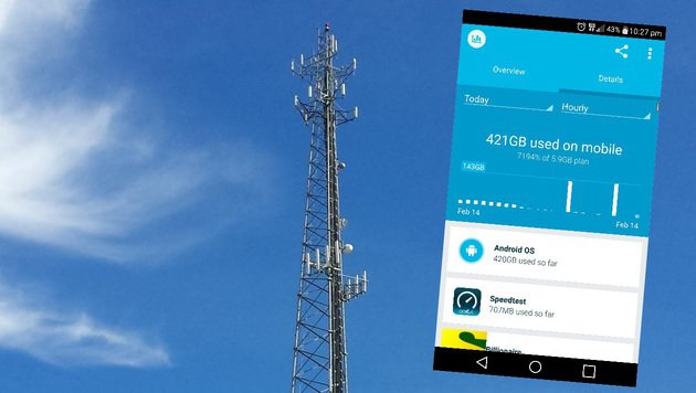 Mobilfunker bietet Gratis-Web: Kunde saugt 421 GB (Bild: flickr.com/Michael Dorausch, reddit.com)