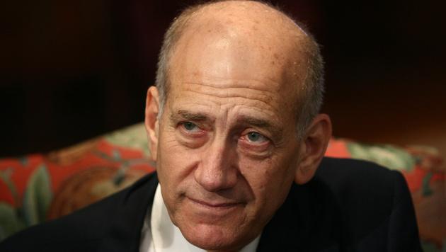 Olmert als erster Ex-Premier Israels in Haft (Bild: AFP)