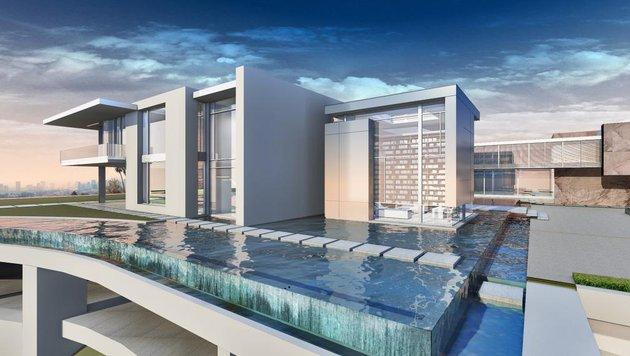 """So soll die """"Giga-Villa"""" einmal aussehen. (Bild: McClean Design)"""