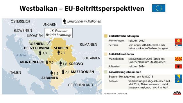 Bosnien reichte Antrag auf EU-Mitgliedschaft ein (Bild: APA)
