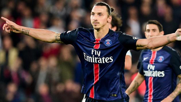 Ibrahimovic mit PSG gegen Chelsea gefordert (Bild: GEPA)