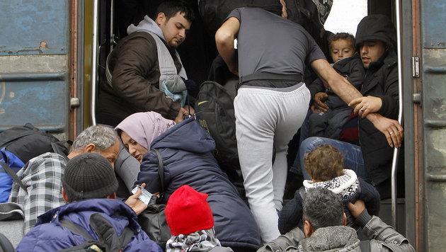 EU-B�rger klar f�r gerechte Fl�chtlingsverteilung (Bild: ASSOCIATED PRESS)