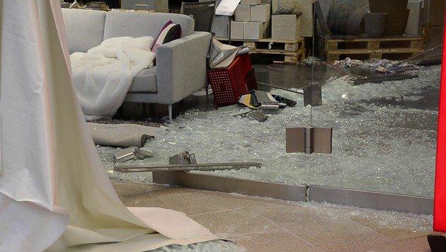 Glasplatten-Unglück in OÖ: Opfer hat entbunden (Bild: fotokerschi.at)