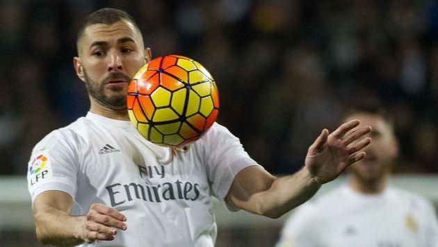 Karim Benzema: Gefangen in der Sex-Falle (Bild: APA/AFP/CURTO DE LA TORRE)