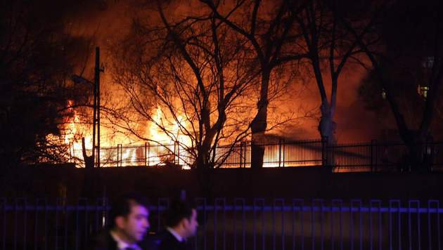 Ankara: 28 Tote bei Anschlag auf Militärkonvoi (Bild: APA/AFP/STRINGER)