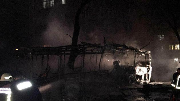Ankara: 28 Tote bei Anschlag auf Militärkonvoi (Bild: AP)