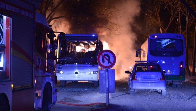 Ankara: 28 Tote bei Anschlag auf Militärkonvoi (Bild: AFP or licensors)