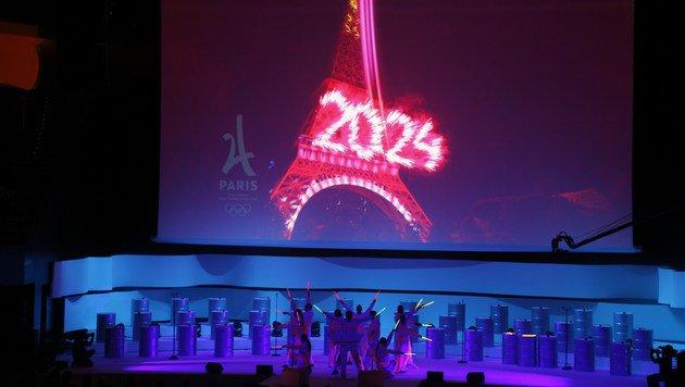 Antwort auf Terror in Paris: Olympia 2024! (Bild: APA/AFP/FRANCOIS GUILLOT)