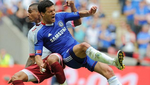 Boateng: DFB-Kicker fanden WM-Aus von Ballack gut (Bild: ADRIAN DENNIS / AFP / picturedesk.com)