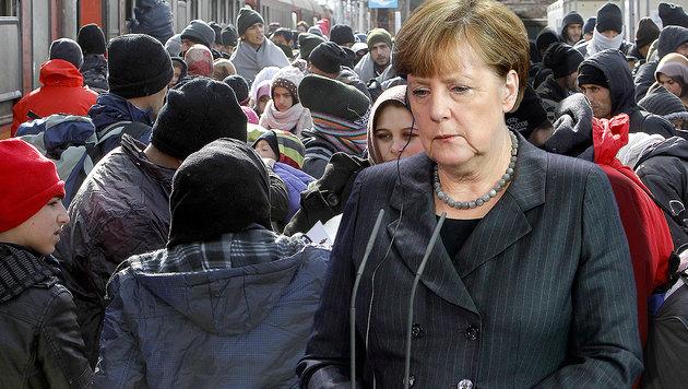 Deutschlands Kanzlerin Angela Merkel (Bild: AP)