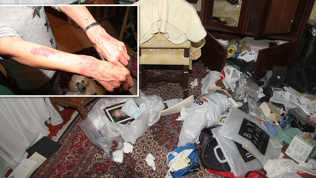 Ehepaar im eigenen Haus von Trio brutal �berfallen (Bild: Andi Schiel)