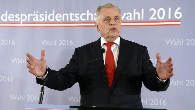 """Hundstorfer an ÖVP: """"Hände Weg von den Pensionen!"""" (Bild: APA/HANS KLAUS TECHT)"""