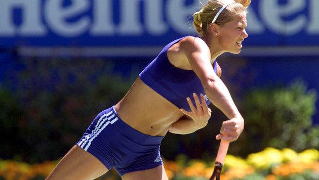 Gestatten, Anna Kournikowa, Wunderkind, Pin-up, Starlet! Schon als Teenager mit auf der WTA-Tour ... (Bild: GEPA)