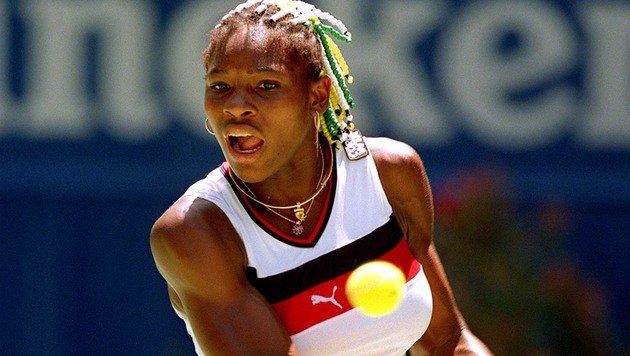 Die Rede ist von Serena Williams, die in den 90ern noch deutlich anders aussah als heute. (Bild: GEPA)