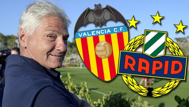 "Kurt Jara: ""Valencia hat keine Mannschaft"" (Bild: APA/ROBERT JAEGER, valenciacf.com, skrapid.at)"