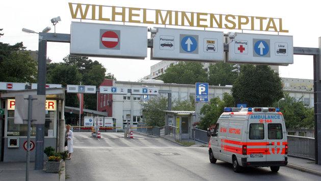 Mitarbeiter in Wiener Spital mit Messer bedroht (Bild: Andi Schiel)