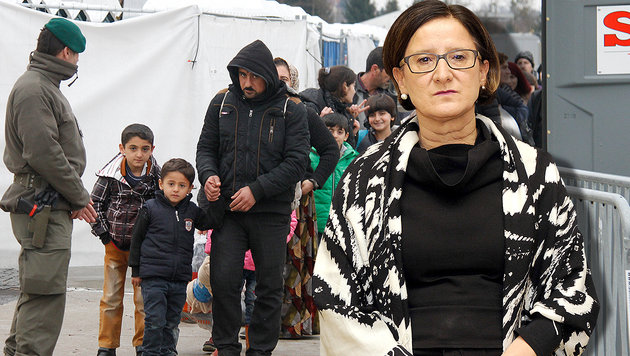 Obergrenze tritt in Kraft: 80 Asylanträge pro Tag (Bild: Sepp Pail, APA/HERBERT PFARRHOFER)