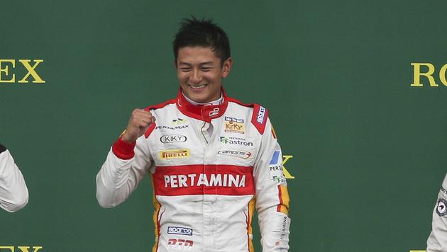 Rio Haryanto der erste Indonesier in der Formel 1 (Bild: GEPA)