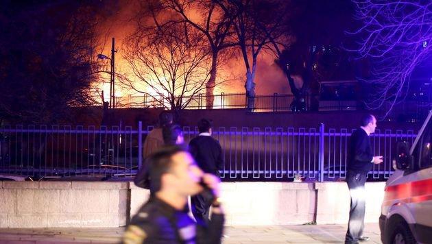 Ankara: 28 Tote bei Anschlag auf Militärkonvoi (Bild: APA/AFP/EROL UCEM)