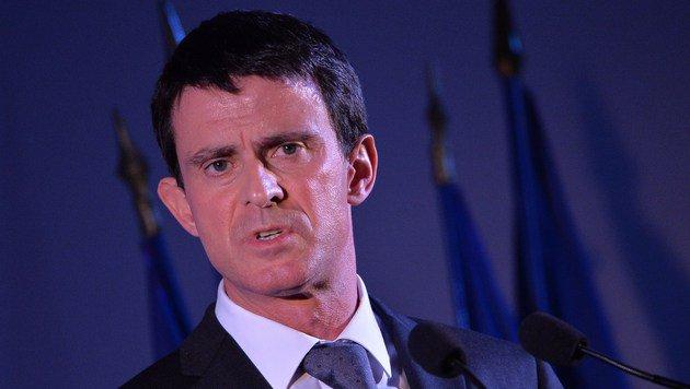 Frankreichs Premier Manuel Valls (Bild: APA/AFP/MIGUEL MEDINA)