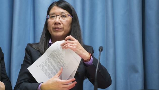 Joanne Liu, Präsidentin von Ärzte ohne Grenzen International (Bild: ASSOCIATED PRESS)
