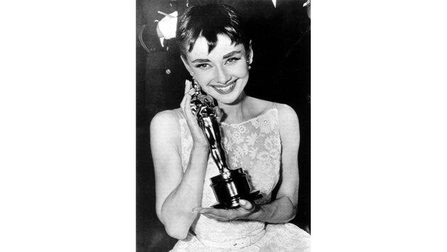 """Audrey Hepburn gewann 1954 den Oscar für den Film """"Ein Herz und eine Krone"""". (Bild: Viennareport)"""