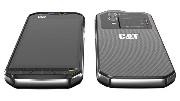 Das erste Smartphone mit Wärmebildkamera kommt (Bild: CAT Phones)
