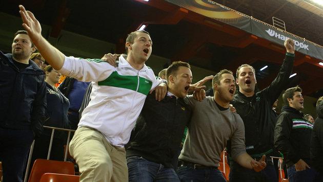 Die besten Bilder vom EL-Hit Rapid gegen Valencia! (Bild: GEPA)