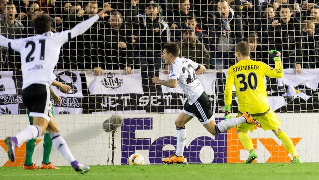 Die besten Bilder vom EL-Hit Rapid gegen Valencia! (Bild: APA/GEORG HOCHMUTH)
