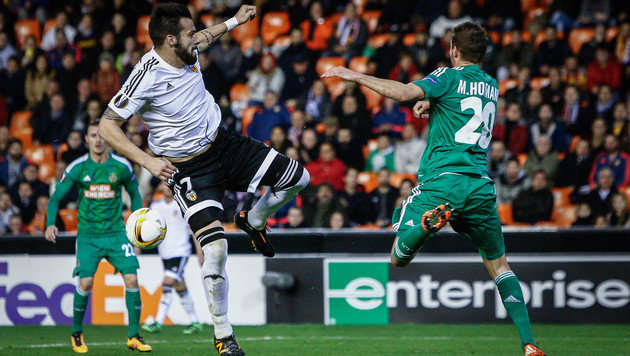 Die besten Bilder vom EL-Hit Rapid gegen Valencia! (Bild: AFP or licensors)