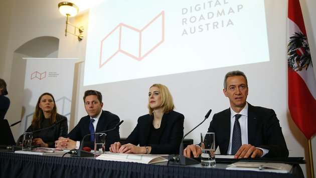 """""""Digital Roadmap"""" soll Standort Österreich stärken (Bild: BKA/Hans Hofer)"""