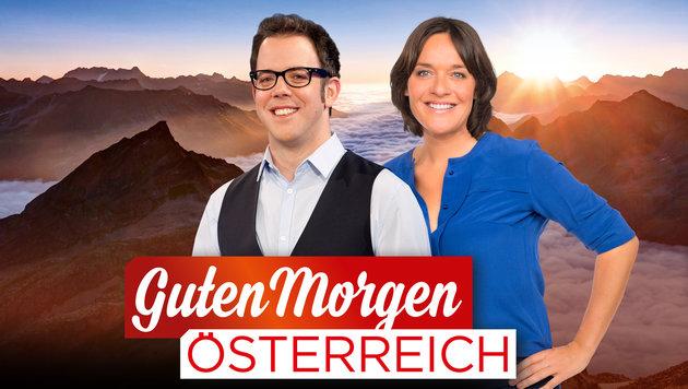 Lukas Schweighofer und Eva Pölz (Bild: ORF)