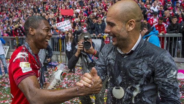 Guardiolas Deal mit Bayern: Alaba nicht zu ManCity (Bild: APA/dpa/Marc MŸller)