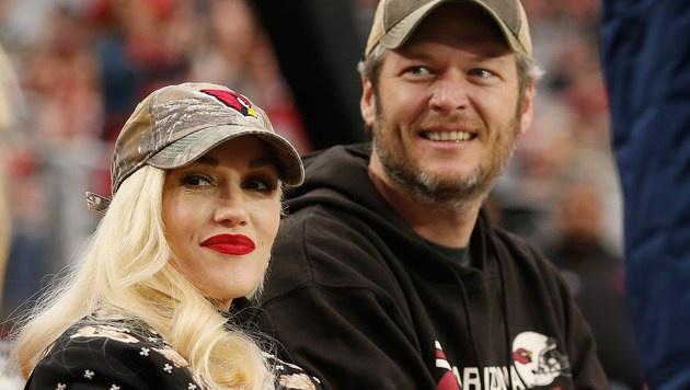 Gwen Stefani und Blake Shelton (Bild: APA/AFP/GETTY IMAGES/Christian Petersen)