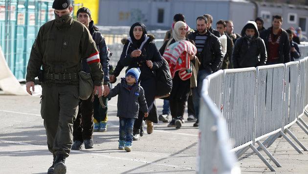 """""""Humanit�re Krise"""" durch Tageskontingente? (Bild: APA/ERWIN SCHERIAU)"""