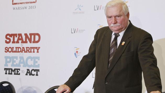 Polen: Ex-Präsident Walesa soll gespitzelt haben (Bild: ASSOCIATED PRESS)